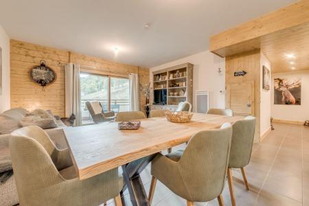 Location au ski Appartement 4 pièces 8 personnes (B02) - Résidence les Balcons Etoilés - Champagny-en-Vanoise - Table