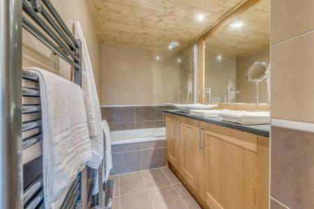 Location au ski Appartement 4 pièces 8 personnes (B03) - Résidence les Balcons Etoilés - Champagny-en-Vanoise - Baignoire