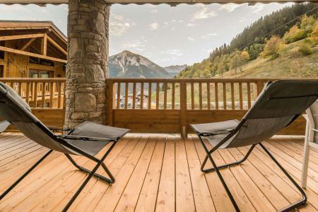 Location au ski Appartement 4 pièces 8 personnes (B03) - Résidence les Balcons Etoilés - Champagny-en-Vanoise - Balcon