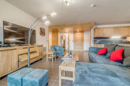 Location au ski Appartement 4 pièces 8 personnes (B03) - Résidence les Balcons Etoilés - Champagny-en-Vanoise - Canapé