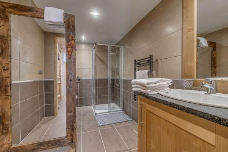 Location au ski Appartement 4 pièces 8 personnes (B21) - Résidence les Balcons Etoilés - Champagny-en-Vanoise - Douche