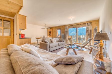 Location au ski Appartement duplex 4 pièces 10 personnes (B24) - Résidence les Balcons Etoilés - Champagny-en-Vanoise - Séjour