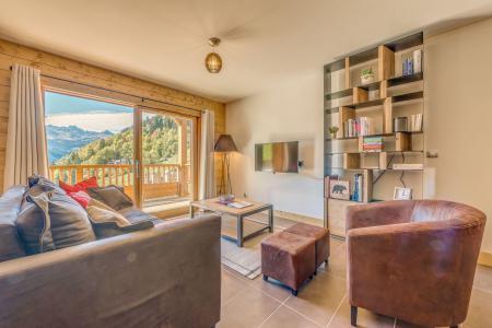 Location au ski Appartement duplex 4 pièces 8 personnes (B20) - Résidence les Balcons Etoilés - Champagny-en-Vanoise - Séjour