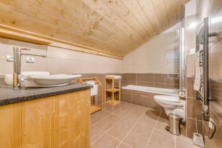 Location au ski Appartement duplex 5 pièces 10 personnes (B25) - Résidence les Balcons Etoilés - Champagny-en-Vanoise - Baignoire
