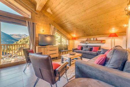 Location au ski Appartement duplex 5 pièces 10 personnes (B25) - Résidence les Balcons Etoilés - Champagny-en-Vanoise - Canapé