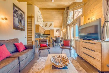 Location au ski Appartement duplex 5 pièces 10 personnes (B25) - Résidence les Balcons Etoilés - Champagny-en-Vanoise - Séjour