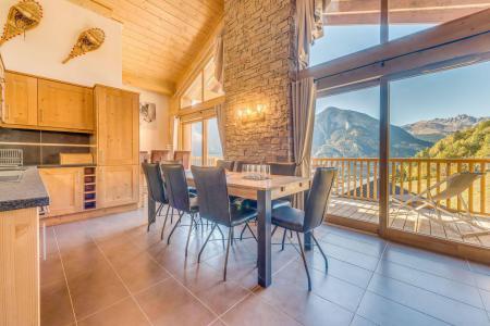 Location au ski Appartement duplex 5 pièces 10 personnes (B25) - Résidence les Balcons Etoilés - Champagny-en-Vanoise - Table