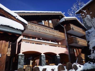 Location au ski Résidence les Edelweiss - Champagny-en-Vanoise - Extérieur hiver
