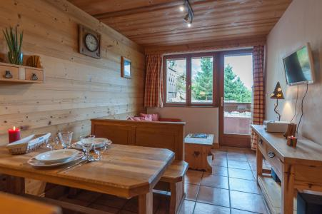 Rent in ski resort 3 room apartment 4 people - Résidence les Edelweiss - Champagny-en-Vanoise - Living room