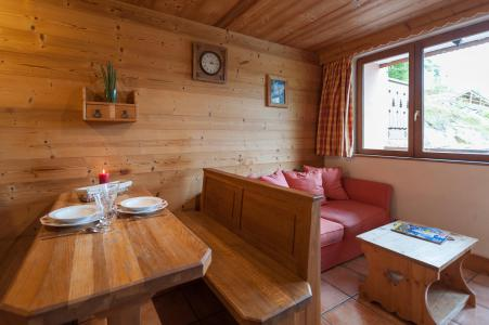 Rent in ski resort 3 room apartment 4 people - Résidence les Edelweiss - Champagny-en-Vanoise - Table