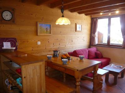 Rent in ski resort 3 room apartment 5 people - Résidence les Edelweiss - Champagny-en-Vanoise - Living room