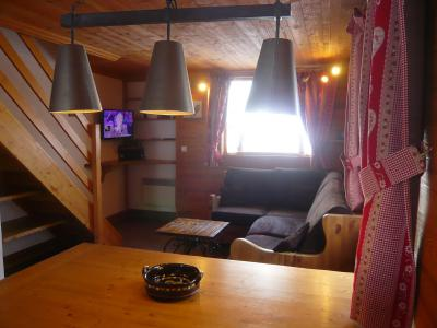 Rent in ski resort 3 room chalet 7 people - Résidence les Edelweiss - Champagny-en-Vanoise - Living room