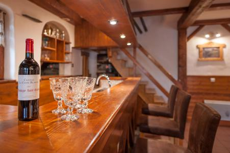 Rent in ski resort 3 room mezzanine semi-detached chalet 6-8 people - Résidence les Edelweiss - Champagny-en-Vanoise - Bar