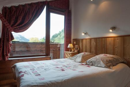 Rent in ski resort 3 room mezzanine semi-detached chalet 6-8 people - Résidence les Edelweiss - Champagny-en-Vanoise - Bedroom