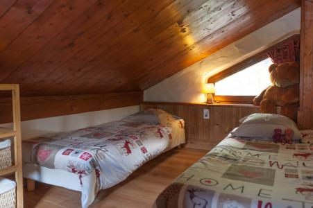 Rent in ski resort 3 room mezzanine semi-detached chalet 6-8 people - Résidence les Edelweiss - Champagny-en-Vanoise - Twin beds