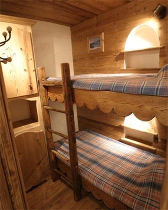 Location au ski Appartement 3 pièces 4 personnes - Residence Les Edelweiss - Champagny-en-Vanoise - Lits superposés