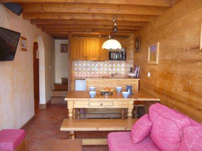 Location au ski Appartement 3 pièces 5 personnes - Résidence les Edelweiss - Champagny-en-Vanoise - Canapé