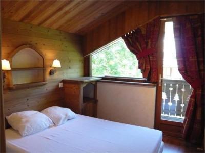 Location au ski Appartement 3 pièces 5 personnes - Residence Les Edelweiss - Champagny-en-Vanoise - Chambre mansardée