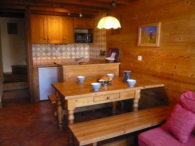Location au ski Appartement 3 pièces 5 personnes - Résidence les Edelweiss - Champagny-en-Vanoise - Salle à manger