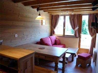 Location au ski Appartement 3 pièces 5 personnes - Residence Les Edelweiss - Champagny-en-Vanoise - Séjour