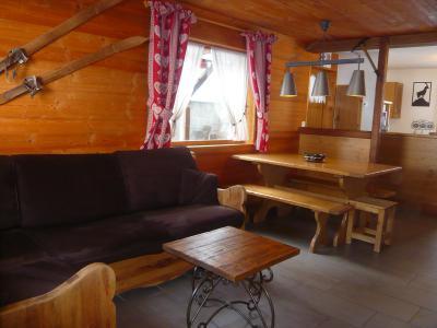 Location au ski Chalet 3 pièces 7 personnes - Résidence les Edelweiss - Champagny-en-Vanoise - Banquette