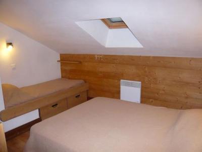 Location au ski Chalet 3 pièces 7 personnes - Residence Les Edelweiss - Champagny-en-Vanoise - Chambre mansardée