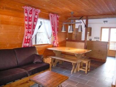 Location au ski Chalet 3 pièces 7 personnes - Residence Les Edelweiss - Champagny-en-Vanoise - Séjour