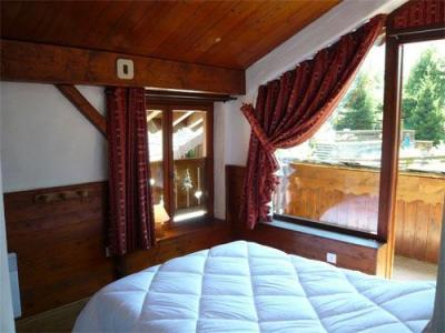 Location au ski Chalet mitoyen 3 pièces mezzanine 6-8 personnes - Residence Les Edelweiss - Champagny-en-Vanoise - Chambre