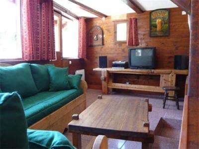 Location au ski Chalet mitoyen 3 pièces mezzanine 6-8 personnes - Résidence les Edelweiss - Champagny-en-Vanoise - Séjour