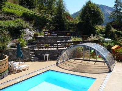 Location au ski Chalet 3 pièces 7 personnes - Residence Les Edelweiss - Champagny-en-Vanoise - Piscine