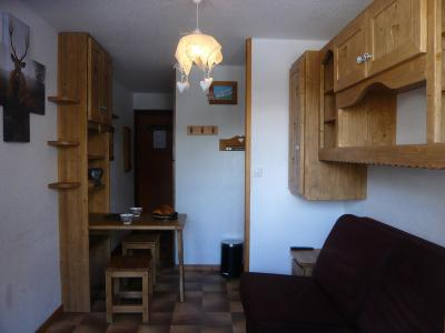 Rent in ski resort Studio 2 people - Résidence les Edelweiss - Champagny-en-Vanoise - Table