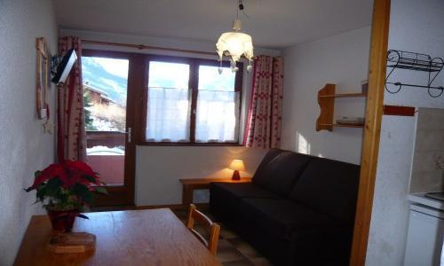 Location au ski Studio 2 personnes - Residence Les Edelweiss - Champagny-en-Vanoise - Séjour