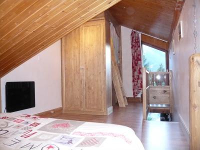 Rent in ski resort Studio 3 people (standard) - Résidence les Edelweiss - Champagny-en-Vanoise - Bedroom