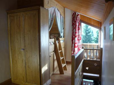 Rent in ski resort Studio 3 people (standard) - Résidence les Edelweiss - Champagny-en-Vanoise - Single bed