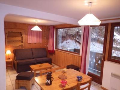 Location au ski Studio 4 personnes - Residence Les Edelweiss - Champagny-en-Vanoise - Séjour