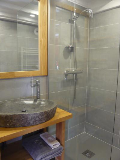 Rent in ski resort Studio mezzanine 4 people - Résidence les Edelweiss - Champagny-en-Vanoise - Bathroom