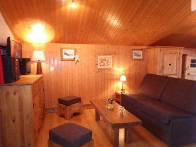 Location au ski Studio mezzanine 4 personnes - Residence Les Edelweiss - Champagny-en-Vanoise - Canapé