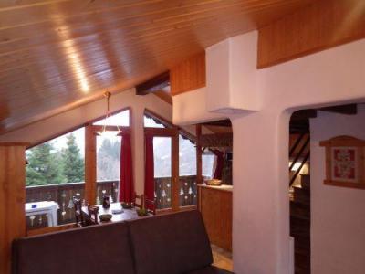 Location au ski Studio mezzanine 4 personnes - Résidence les Edelweiss - Champagny-en-Vanoise - Kitchenette