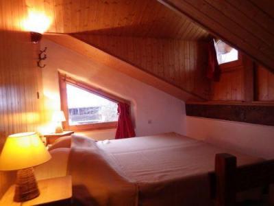 Location au ski Studio mezzanine 4 personnes - Residence Les Edelweiss - Champagny-en-Vanoise - Lit double