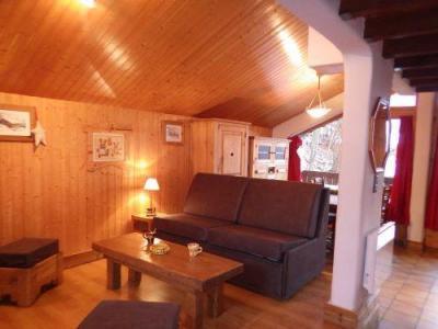 Location au ski Studio mezzanine 4 personnes - Residence Les Edelweiss - Champagny-en-Vanoise - Séjour