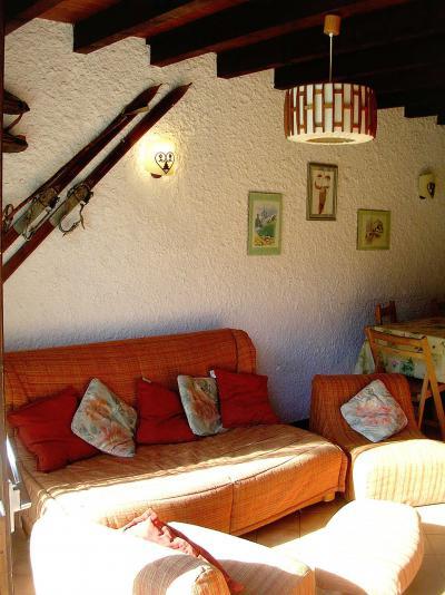 Rent in ski resort 3 room duplex apartment 6 people (006CL) - Résidence les Primevères - Champagny-en-Vanoise - Living room