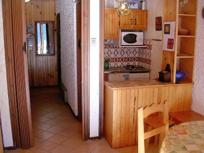 Rent in ski resort Studio sleeping corner 4 people (002CL) - Résidence les Primevères - Champagny-en-Vanoise - Kitchenette