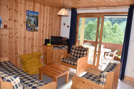 Rent in ski resort 3 room apartment 4 people (19) - Résidence Tour du Merle - Champagny-en-Vanoise - Living room