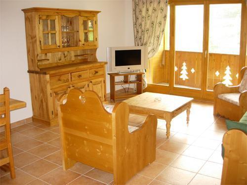 Location au ski Appartement 3 pièces 6-8 personnes - Residence Dents Blanches - Dents Du Midi - Champéry - Fenêtre