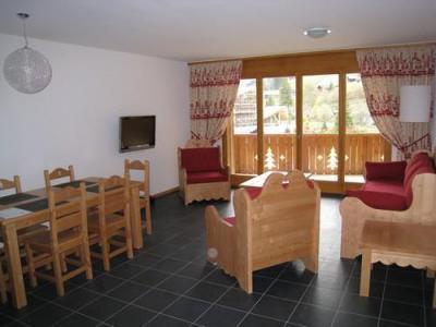 Location au ski Appartement 3 pièces 4-6 personnes - Residence Dents Blanches - Dents Du Midi - Champéry - Séjour