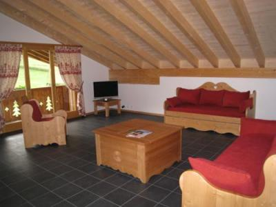 Location au ski Residence Dents Blanches - Dents Du Midi - Champéry - Séjour