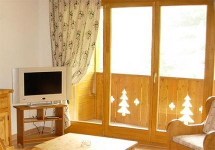Location au ski Studio 2 personnes - Residence Dents Blanches - Dents Du Midi - Champéry - Fenêtre