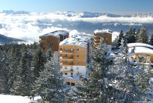 Ski en décembre Residence L'ecrin Des Neiges