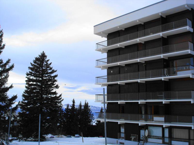 Vacances en montagne Résidence l'Arselle - Chamrousse - Extérieur hiver