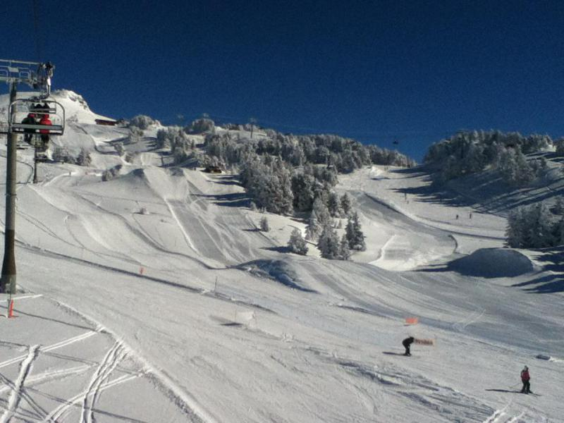 Vacances en montagne Studio 4 personnes (508) - Résidence l'Arselle - Chamrousse - Extérieur hiver